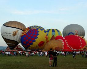 Philippines Hot Air Balloon Festival in Clark, Pampanga