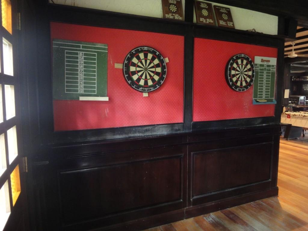 Darts at Bar in Clark Pampanga