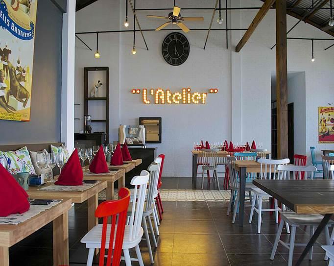 L'Atelier Restaurant of La Chevrerie Resort and Spa in Anilao Batangas